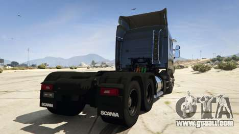 GTA 5 Scania R440 rear left side view