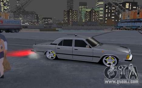 GAZ 3102 for GTA 4 back view