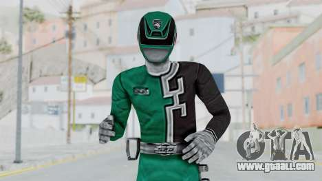 Power Rangers S.P.D - Green for GTA San Andreas
