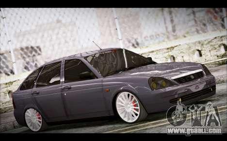Lada Priora Bpan Version for GTA San Andreas