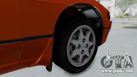Nissan Sileighty - Stock for GTA San Andreas back left view