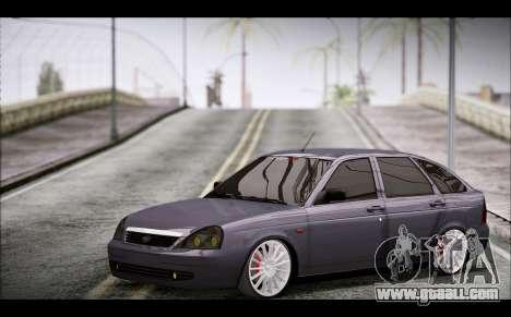 Lada Priora Bpan Version for GTA San Andreas right view
