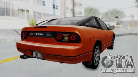 Nissan Sileighty - Stock for GTA San Andreas left view