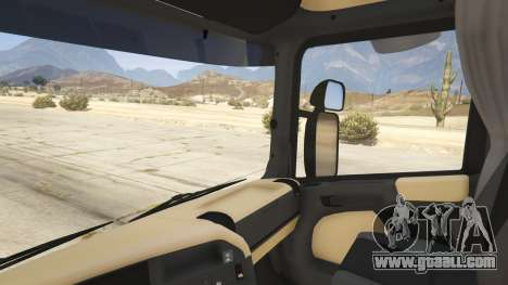 GTA 5 Scania R440 rear right side view
