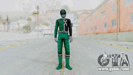 Power Rangers S.P.D - Green for GTA San Andreas second screenshot