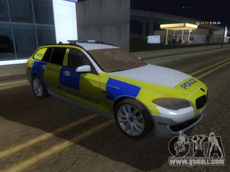 Jersey Police BMW 530d Touring for GTA San Andreas
