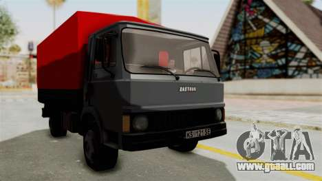 Zastava 640 for GTA San Andreas back left view