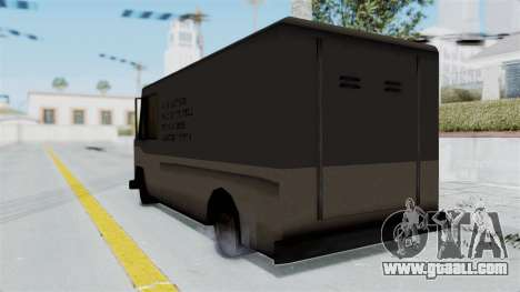 Boxville from Manhunt for GTA San Andreas left view