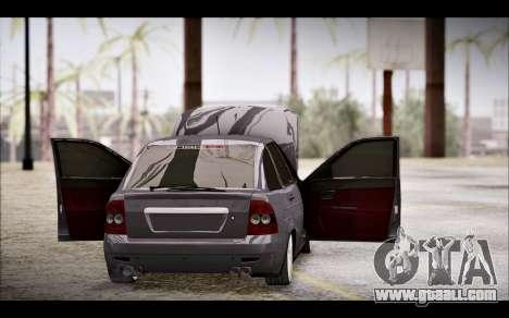 Lada Priora Bpan Version for GTA San Andreas inner view