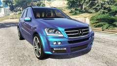 Mercedes-Benz ML63 (W164) Brabus 2009 for GTA 5