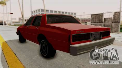 Chevrolet Caprice Classic 1986 v2.0 for GTA San Andreas left view