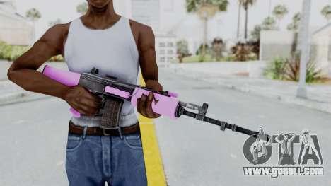 IOFB INSAS Light Pink for GTA San Andreas third screenshot