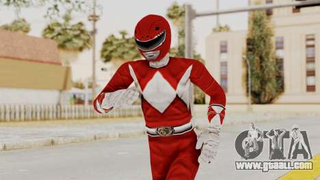 Mighty Morphin Power Rangers - Red for GTA San Andreas