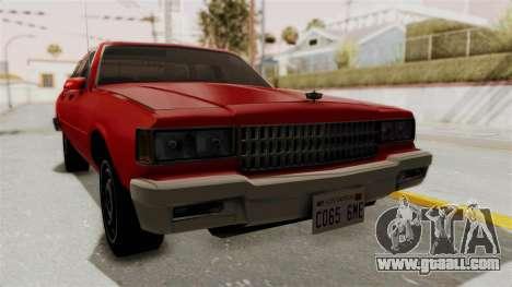 Chevrolet Caprice Classic 1986 v2.0 for GTA San Andreas