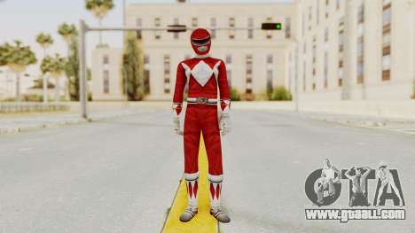Mighty Morphin Power Rangers - Red for GTA San Andreas second screenshot