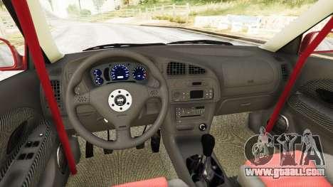 GTA 5 Mitsubishi Lancer GSR Evolution VI 1999 rear right side view