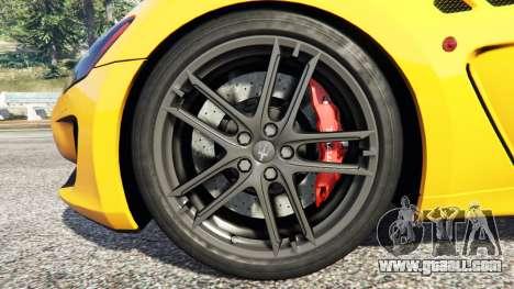GTA 5 Maserati GranTurismo MC Stradale steering wheel