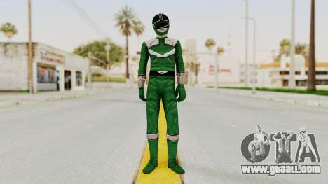 Power Rangers Time Force - Green for GTA San Andreas second screenshot