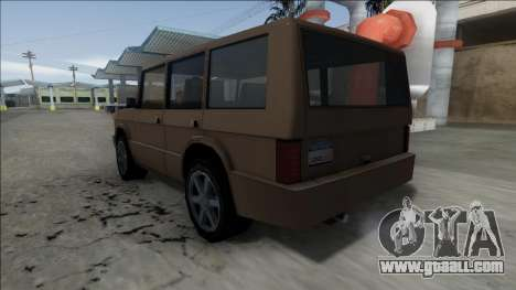 New Huntley for GTA San Andreas right view