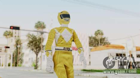 Mighty Morphin Power Rangers - Yellow for GTA San Andreas
