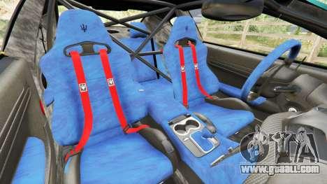 GTA 5 Maserati GranTurismo MC Stradale right side view