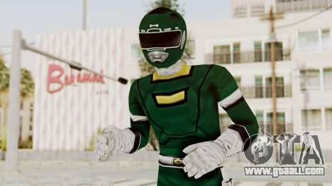 Power Rangers Turbo - Green for GTA San Andreas