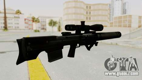 VKS Sniper Rifle for GTA San Andreas second screenshot