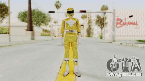 Mighty Morphin Power Rangers - Yellow for GTA San Andreas second screenshot