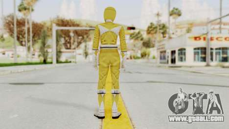 Mighty Morphin Power Rangers - Yellow for GTA San Andreas third screenshot