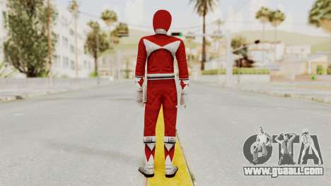 Mighty Morphin Power Rangers - Red for GTA San Andreas third screenshot