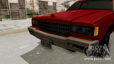 Chevrolet Caprice Classic 1986 v2.0 for GTA San Andreas side view