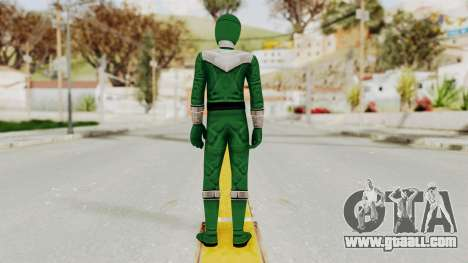 Power Rangers Time Force - Green for GTA San Andreas third screenshot