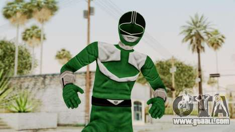 Power Rangers Time Force - Green for GTA San Andreas