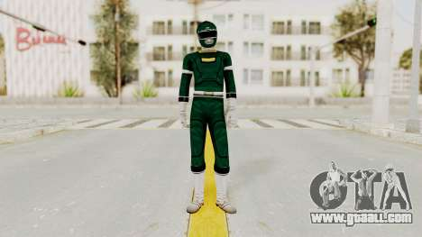 Power Rangers Turbo - Green for GTA San Andreas second screenshot