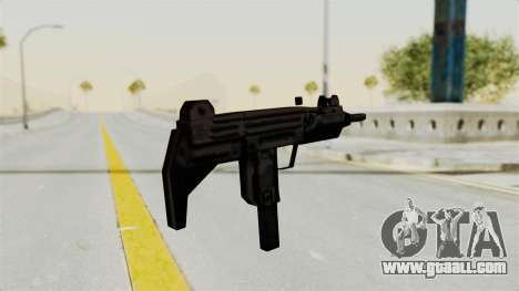 Liberty City Stories Uzi for GTA San Andreas third screenshot