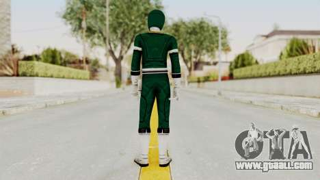 Power Rangers Turbo - Green for GTA San Andreas third screenshot