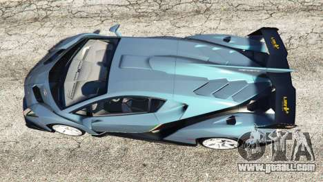 GTA 5 Lamborghini Veneno 2013 back view