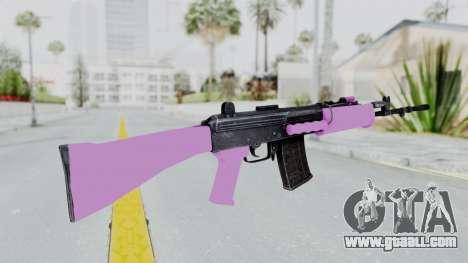 IOFB INSAS Light Pink for GTA San Andreas second screenshot