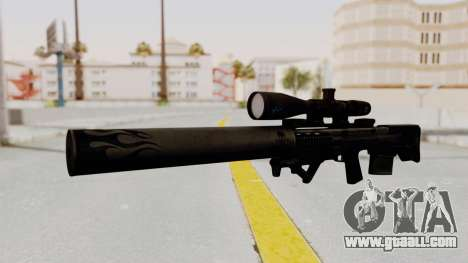 VKS Sniper Rifle for GTA San Andreas
