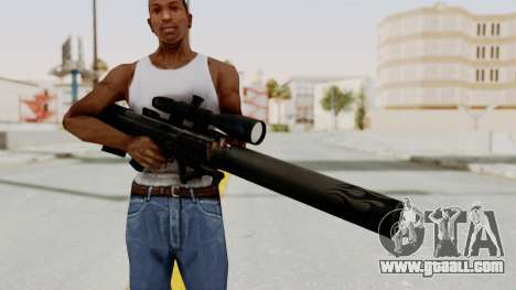VKS Sniper Rifle for GTA San Andreas third screenshot