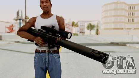 VKS Sniper Rifle for GTA San Andreas third screenshot