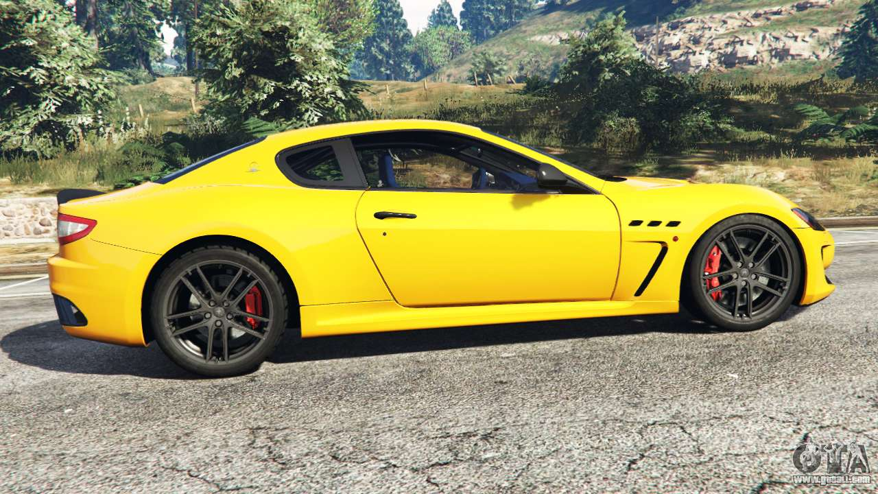 maserati granturismo mc stradale for gta 5. Black Bedroom Furniture Sets. Home Design Ideas