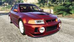 Mitsubishi Lancer GSR Evolution VI 1999 for GTA 5