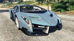 Lamborghini Veneno 2013 for GTA 5