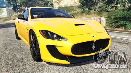 Maserati GranTurismo MC Stradale for GTA 5