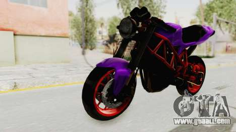 Ducati 1098 Nakedbike for GTA San Andreas right view