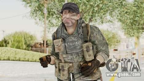 COD BO USA Soldier Ubase for GTA San Andreas