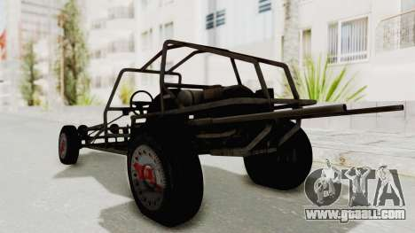 GTA 5 Space Docker No Specular IVF for GTA San Andreas left view