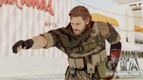 MGSV The Phantom Pain Venom Snake Sc No Patch v9 for GTA San Andreas
