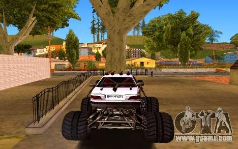 Peugeot Persia Full Sport Monster for GTA San Andreas back left view